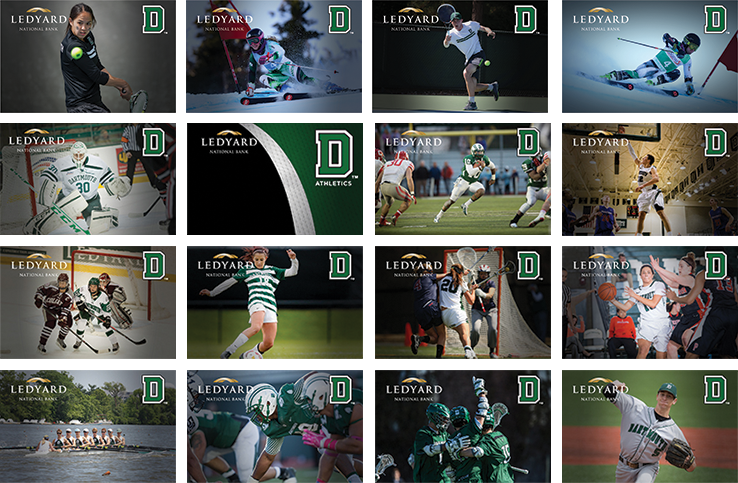 Dartmouth Athletic card design options